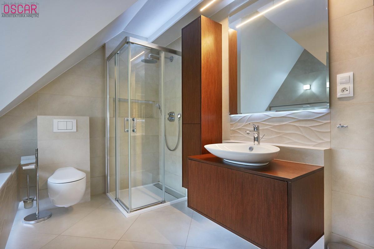 łazienka Na Poddaszu Projektowanie Wnętrz Rzeszów Oscar